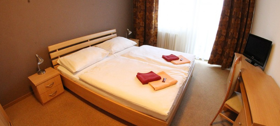 Comfortable rooms with double beds